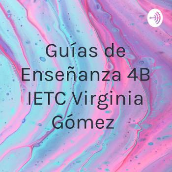 Guías de Enseñanza 4°B IETC Virginia Gómez