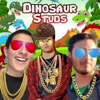 Dinosaur Studs