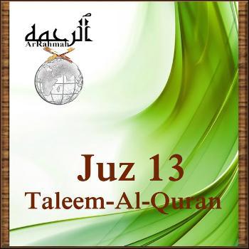 Taleem-Al-Quran Juz 13