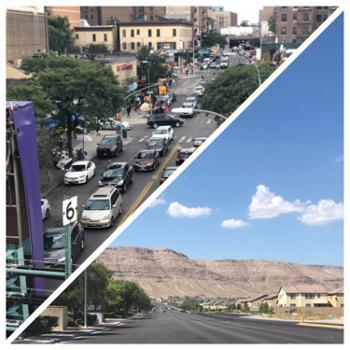 City Skies to Mountain Views