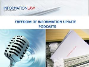 Freedom of Information Law Update
