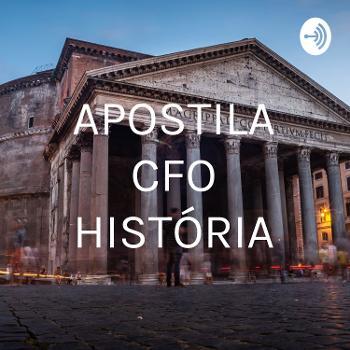 APOSTILA CFO HISTÓRIA
