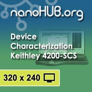 [Audio] Device Characterization with the Keithley 4200-SCS