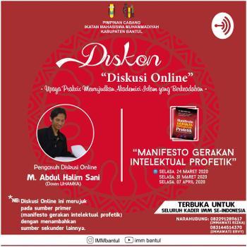 """Diskon""""Diskusi Online"""""""