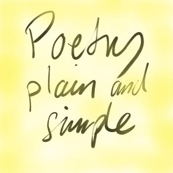 Poetry plain and simple