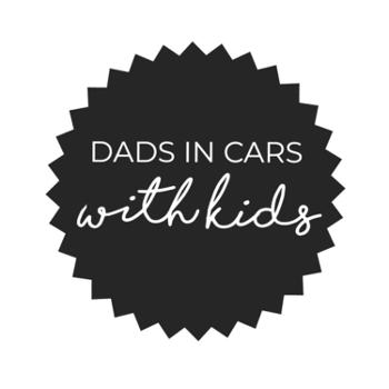 Dad's in cars with kids