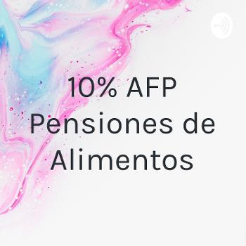 10% AFP Pensiones de Alimentos