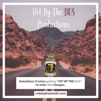 HIT BY THE BUS
