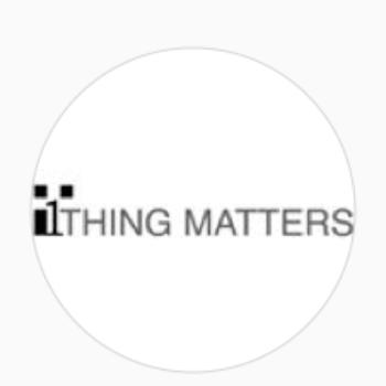 1 Thing Matters