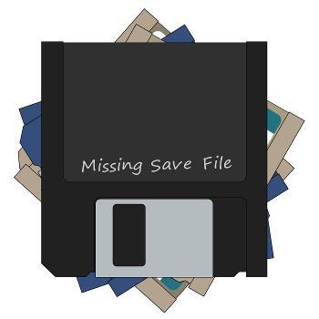 Missing Save File