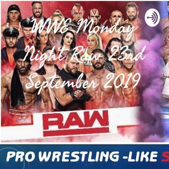 WWE Monday Night Raw 23rd September 2019