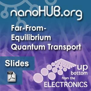 [Audio] Tutorial 4: Far-From-Equilibrium Quantum Transport