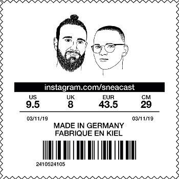 Sneacast - Der nördlichste Sneaker Podcast Deutschlands