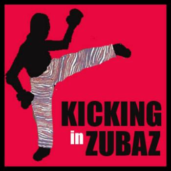 Kicking in Zubaz