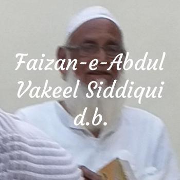 Faizan-e-Abdul Vakeel Siddiqui d.b.