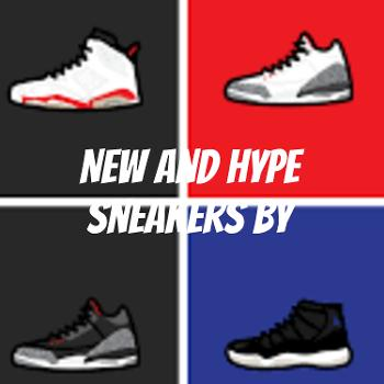 New and Hype sneakers by: T&R KICKS