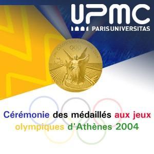 Cérémonie des médaillés aux Jeux Olympiques d'Athènes 2004
