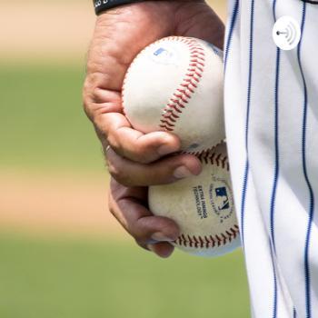 Baseball with Eli and Mark