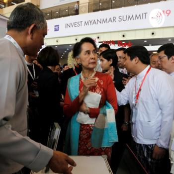 International Business News Suu Kyi to investors: Myanmar is open for business.