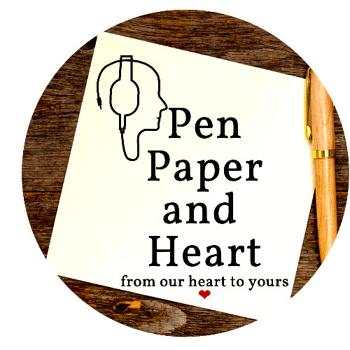 Pen paper and heart ???