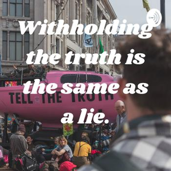 Withholding the truth is the same as a lie.