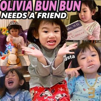 Olivia Bun Bun Needs a Friend